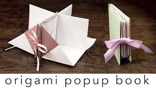 getlinkyoutube.com-Origami Popup Book Tutorial  ♥︎ DIY ♥︎ Crafts ♥︎