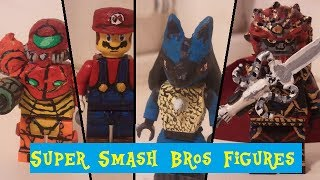getlinkyoutube.com-Super smash bros Brawl lego minifigures