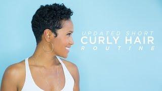 getlinkyoutube.com-Updated Short Curly Hair Routine
