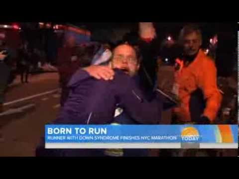 First runner with Down syndrome finishes NYC marathon