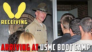 getlinkyoutube.com-Receiving Phase of Marine Corps Boot Camp on Parris Island