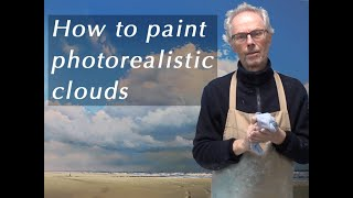 getlinkyoutube.com-How to paint photorealistic clouds - Trailer