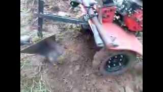 getlinkyoutube.com-Arado para Micro Trator ou tratorito