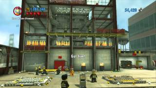 getlinkyoutube.com-LEGO City Undercover (Wii U) - Complete Playthrough - Chapter 10 'Back on the Case'