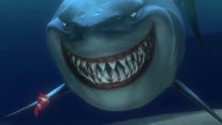 getlinkyoutube.com-Finding Nemo- Shark Scene- Bruce