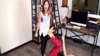 getlinkyoutube.com-Lesbian YouTube Couples | Fight Song