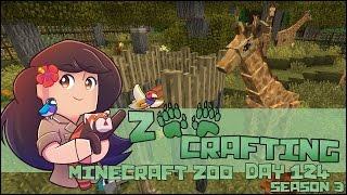 Giraffe Feeding Stations & New Babies!! || Zoo Crafting: Episode #124 || Season 3