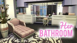 getlinkyoutube.com-The Sims 4 Room Build — Her Bathroom