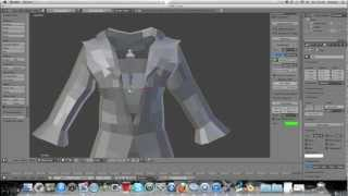 getlinkyoutube.com-Cloth Pinning For Human Clothing. Blender 2.6