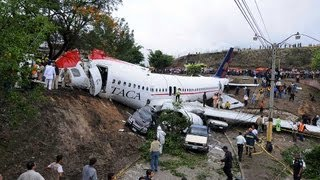 getlinkyoutube.com-TACA Airline flight 110 - Nowhere To Land