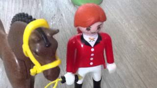 getlinkyoutube.com-Un cheval étrange S1 E2: Kidnapping au Centre Équestre (Film Playmobil)