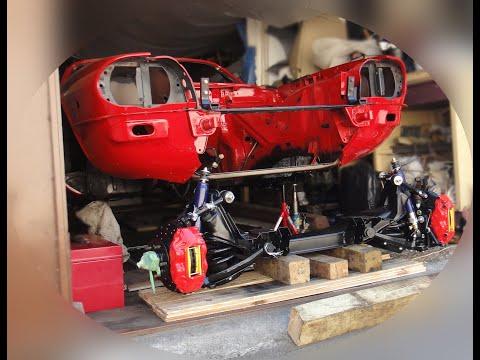 Front Axle Swap for Jaguar XJS (ENG/RUS subtitles)