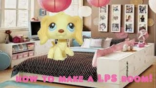 getlinkyoutube.com-How To Make A Littlestpetshop Room/One Room House♥️