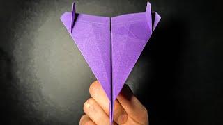 getlinkyoutube.com-Origami Paper Planes: Comment faire un Avion en Papier qui Vole TRÉS BIEN et LONGTEMPS | Elder