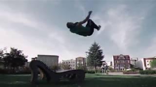 Crazy Parkour Stunts 2018