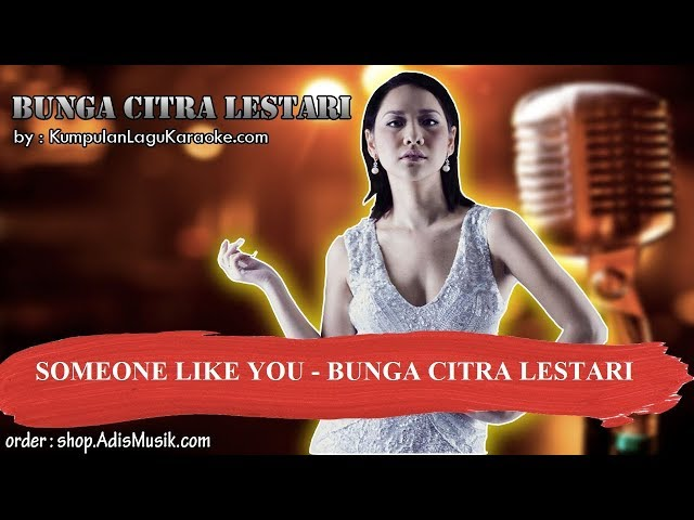 SOMEONE LIKE YOU - BUNGA CITRA LESTARI Karaoke