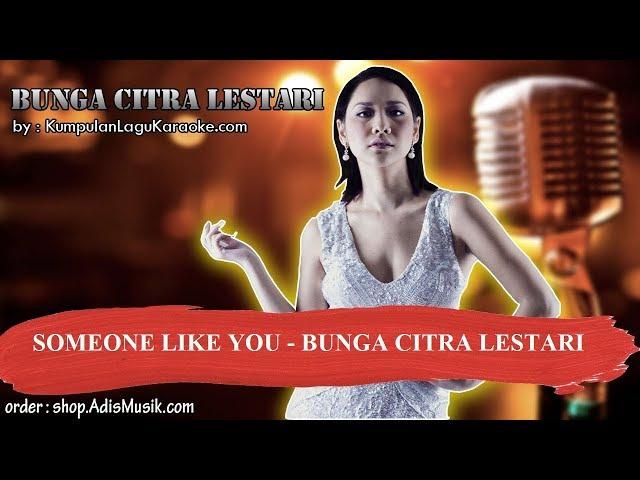 SOMEONE LIKE YOU - BUNGA CITRA LESTARI Karaoke