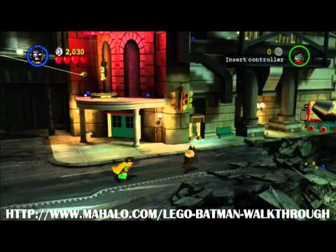 LEGO Batman Walkthrough - Mission 1: You Can Bank on Batman