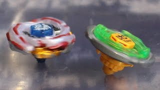 getlinkyoutube.com-Beyblade Meteo L drago LW105LF vs Flame Libra T125ES! Ryuga vs Yu!