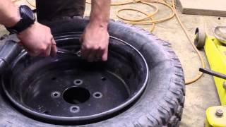 getlinkyoutube.com-How to fluid fill tires... cheap and easy