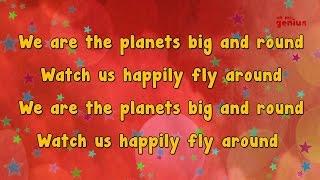 getlinkyoutube.com-Karaoke - Planet Song | Karaoke Rhymes