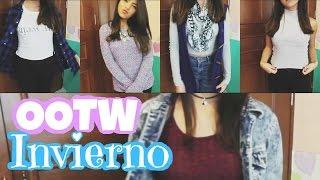 getlinkyoutube.com-OOTW | 7 Outfits de Invierno