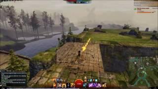 [tRex] Guild Wars 2 Gw2 WvW Return Of The Roaming Staff Killshot Elementalist!