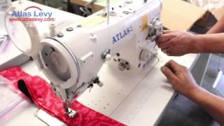 getlinkyoutube.com-3 Step Zig Zag Sewing machine Atlas USA AT2284 - Sample #2