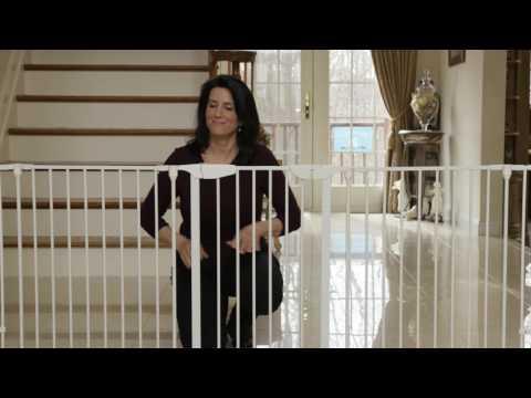 Dreambaby Newport Adapta-Gate - White