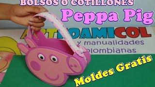 getlinkyoutube.com-BOLSOS O COLTILLONES  PEPPA PIG PARA FIESTAS INFANTILES EN FOAMY