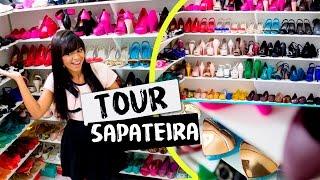 TOUR PELA MINHA SAPATEIRA + COLEÇÃO