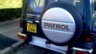 getlinkyoutube.com-1993 Nissan Patrol  Y60 TD42 4.2 diesel, export from UK