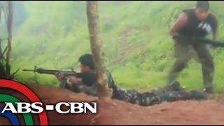 getlinkyoutube.com-Military, NPA clash in Davao del Norte