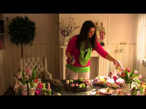 Fröhlich bunte Oster-Dekorationen für Ihr Zuhause