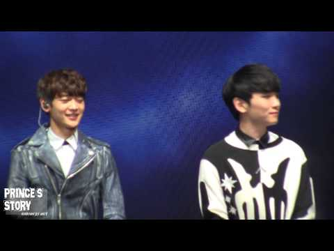 [FANCAM]131130 SHINee Festival Tour in Shanghai talk3