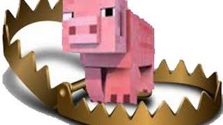 getlinkyoutube.com-🎮Como fazer armadilhas para pegar os Animais do minecraft