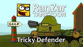 getlinkyoutube.com-Tanktoon: Tricky Defender. RanZar
