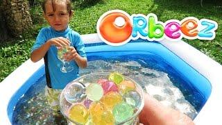 getlinkyoutube.com-Orbeez Pool Fun