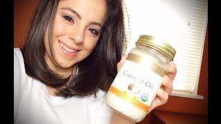getlinkyoutube.com-DIY: Coconut Oil Hair Treatment for Dry/Damaged Hair