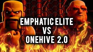 getlinkyoutube.com-Emphatic Elite vs OneHive 2.0 | Round 2 | War Recap in Clash of Clans