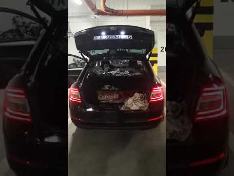 Электропривод багажника skoda octavia a7. защита от защемления.