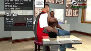 getlinkyoutube.com-50 Cent Tattoos In GTA San Andreas