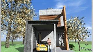 getlinkyoutube.com-แบบบ้านสไตล์ลอฟท์(Loft)สองชั้นหน้าแคบ 5,000บาท