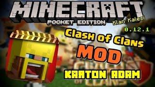 getlinkyoutube.com-Minecraft PE: Clash of Clans Mod !!! 0.12.3