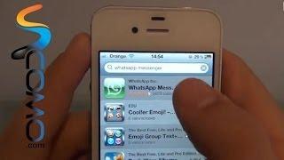 getlinkyoutube.com-Cómo instalar Whatsapp en el Iphone