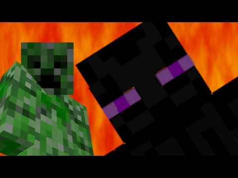 Creeper vs Enderman - Epic Rap Battles of Minecraft