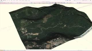 Curvas de nivel y trazo de poligonal con Sketchup [Tutorial]