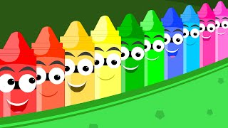 getlinkyoutube.com-Crayons Nursery Rhymes - Ten in the Bed Song | Crayons Nursery Rhyme For Kids | Song For Children