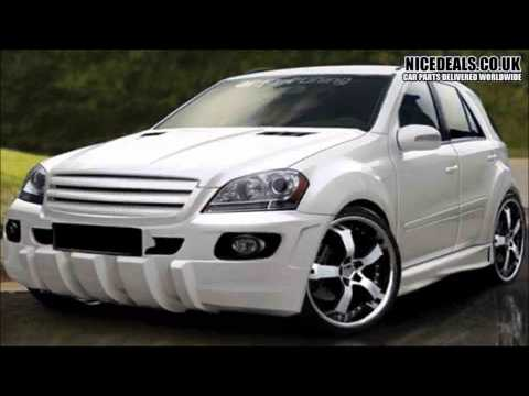 MERCEDES ML BODY KITS, SPORTS BUMPERS, WINGS, FENDERS, SKIRTS