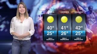CLIMA  JUEVES 14 DE JUNIO